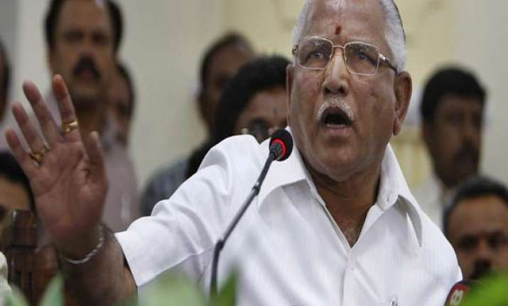 yeddy s man sadananda gowda may become karnataka cm