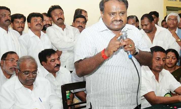 yeddyurappa should have taken corrective steps kumaraswamy