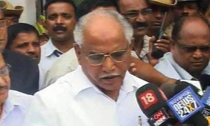yeddyurappa sons son in law took money by cheques