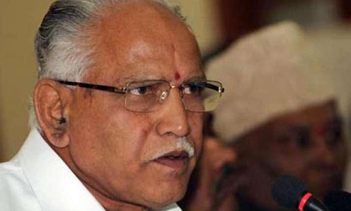 yeddyurappa s rebellion very serious says rss