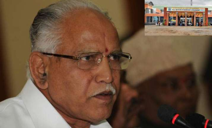 yeddyurappa s trust in suspense after getting mining