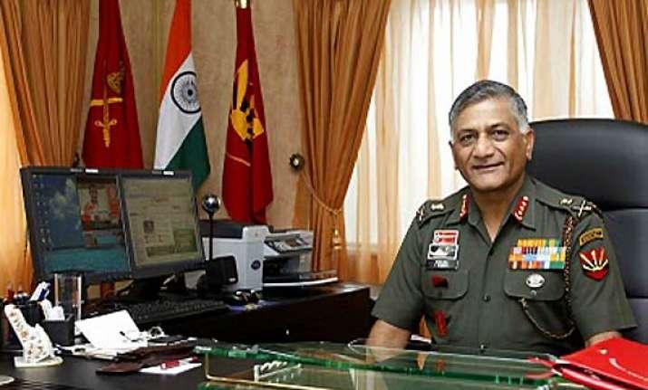 zero tolerance for corruption in army v k singh
