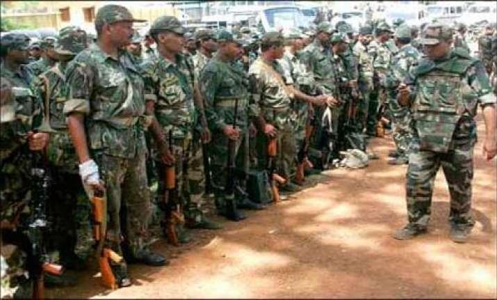 5 bsf men killed in twin naxal attacks in chhatisgarh