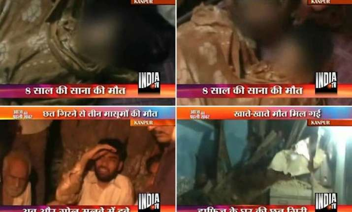 3 boys killed in kanpur house collapse