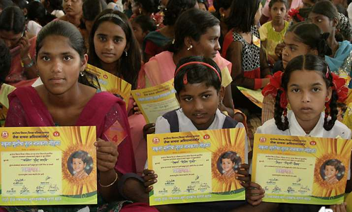 285 indian girls shed unwanted names