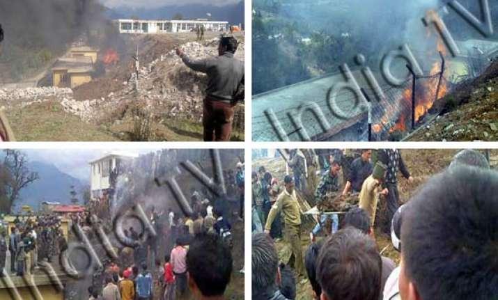 17 indian tourists killed in chopper crash in arunachal