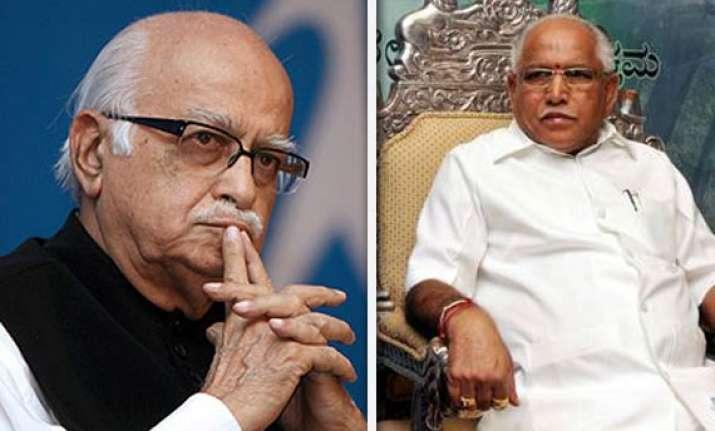 17 karnataka bjp mps ask advani to rehabilitate yeddyurappa