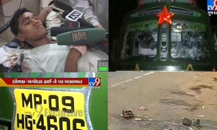18 killed as truck runs over sleeping pilgrims in gujarat