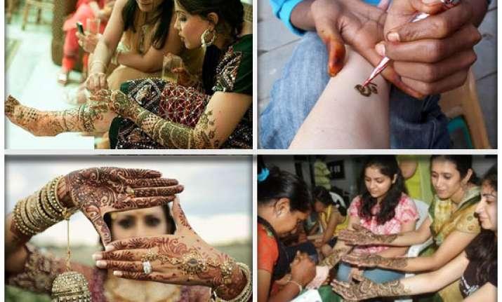 mehndi mania during festivals