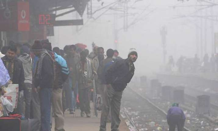 6 more trains cancelled due to fog rajdhanis running hours