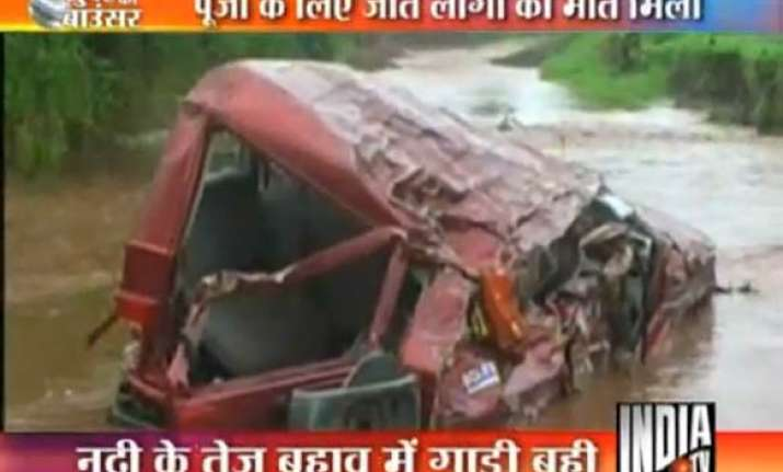 12 people drowned in flash flood in mp