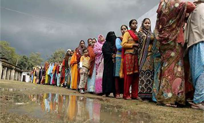 55 per cent voter turnout in delhi civic polls highest in