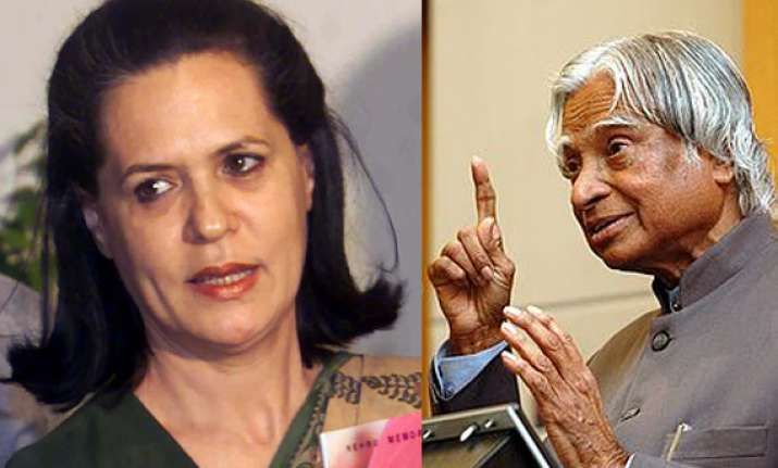 sonia gandhi could ve been pm if she wished says kalam