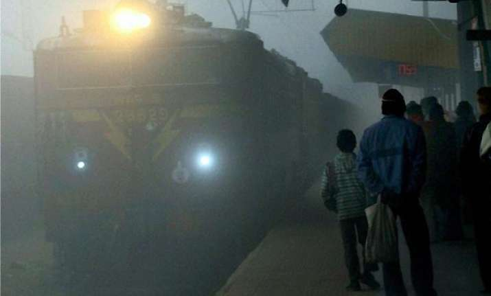 31 trains cancelled due to dense fog