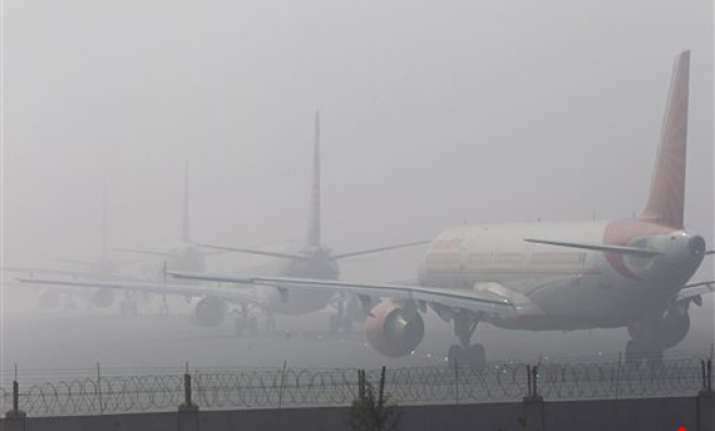 27 trains cancelled 22 trains 25 flights delayed due to fog