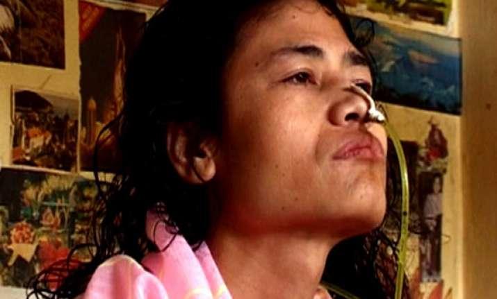 10 years and still fasting manipur iron lady irom sharmila