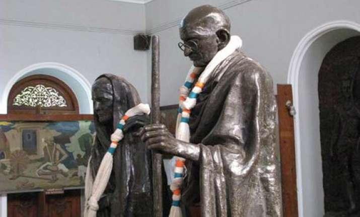 60 per cent more spent on remembering kasturba gandhi than