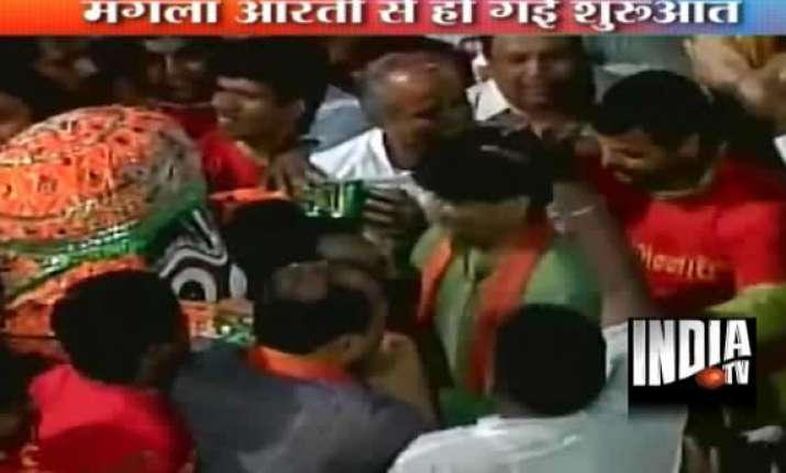 135th lord jagannath rathyatra begins in gujarat
