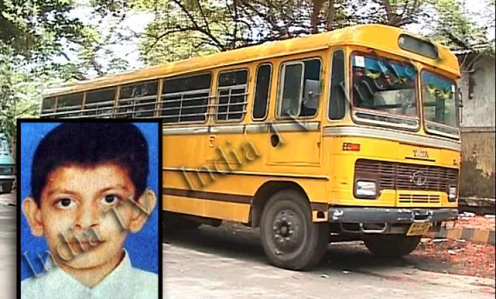 12 yr old student mowed down by own school bus