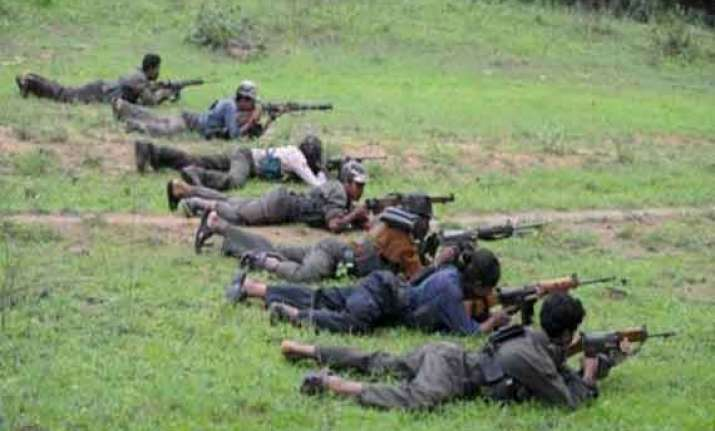 3 alleged maoist commanders killed in an encounter in