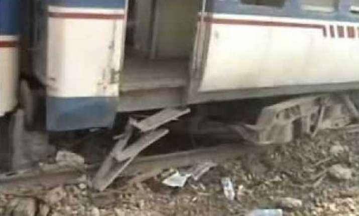 9 coaches of bg express derail in assam 45 injured