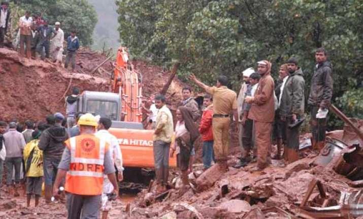 pune landslide toll rises to 41 hopes of finding survivors