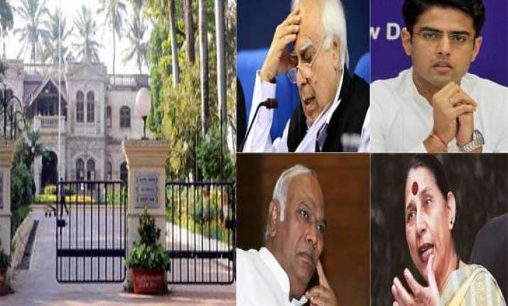 16 ex ministers of upa government served eviction notice to