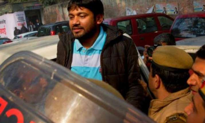 jnu row delhi hc to resume hearing on kanhaiya kumar s bail