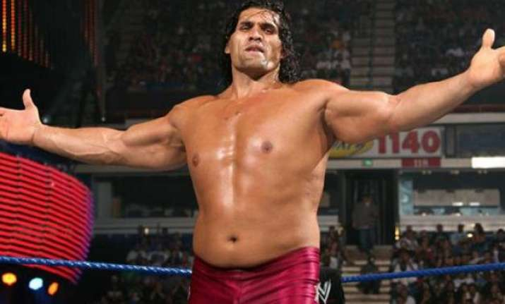 the great khali avenges brody steel