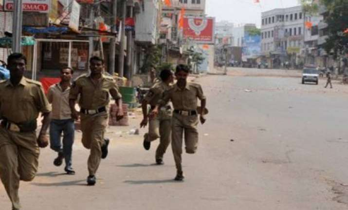 three killed in police firing following communal clash in