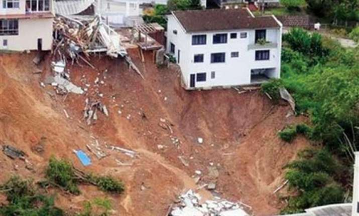 26 landslide affected families shifted to govt houses