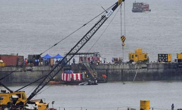 10 months after sinking submarine ins sindhurakshak salvaged