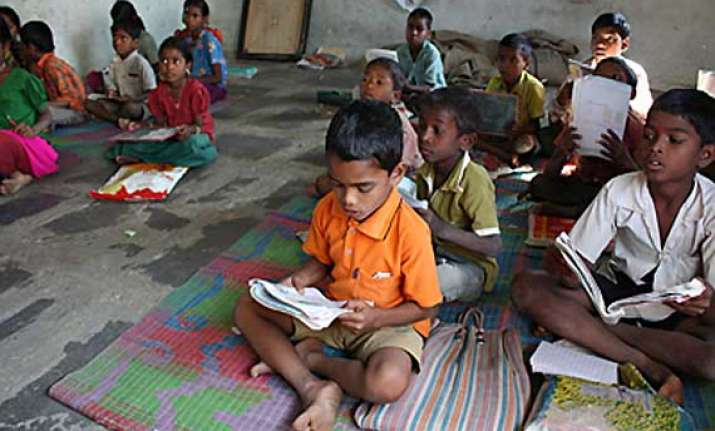 75 pc of tribal children lagging behind in education survey