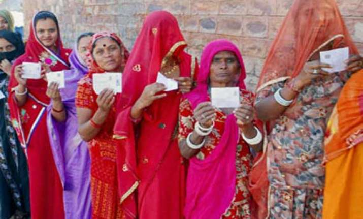 59.64 per cent voter turn out in iind phase in rajasthan