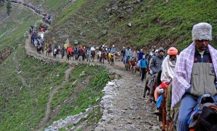 3 pilgrims die en route amarnath shrine death toll reaches