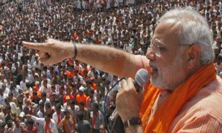 clear cut modi wave bjp will win more than 300 seats naidu