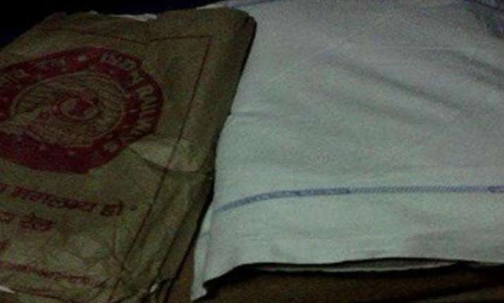 indian railways blankets are washed once in 2 months