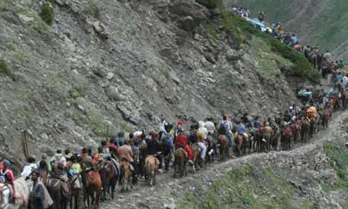 33rd batch of devotees leave for amarnath shrine