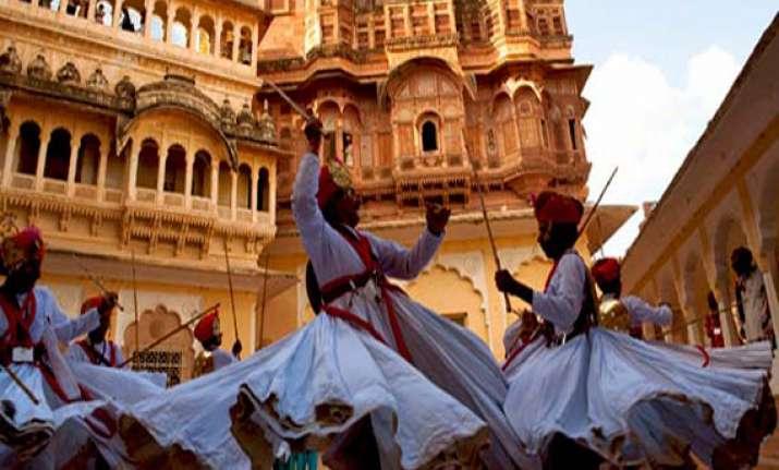 7th rajasthan int l folk festival kicks off at mehrangarh