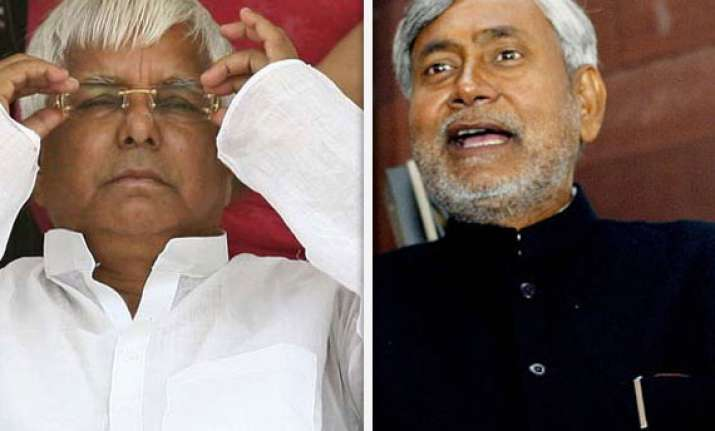 2014 poll brings windfall for nda rout nitish lalu