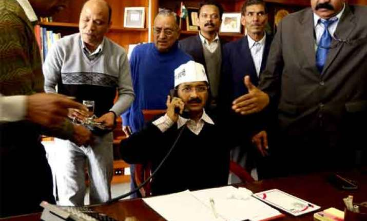 aap rules out forming govt. in delhi congress for fresh