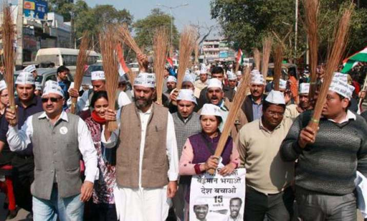 aap alleges large scale rigging in gurgaon