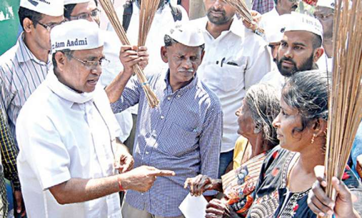 aap eyeing to make noticeable entry in tn
