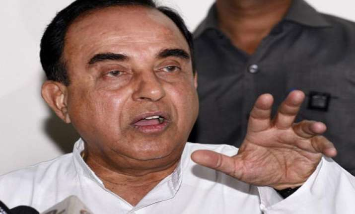 aap is a naxalite party says subramanian swamy