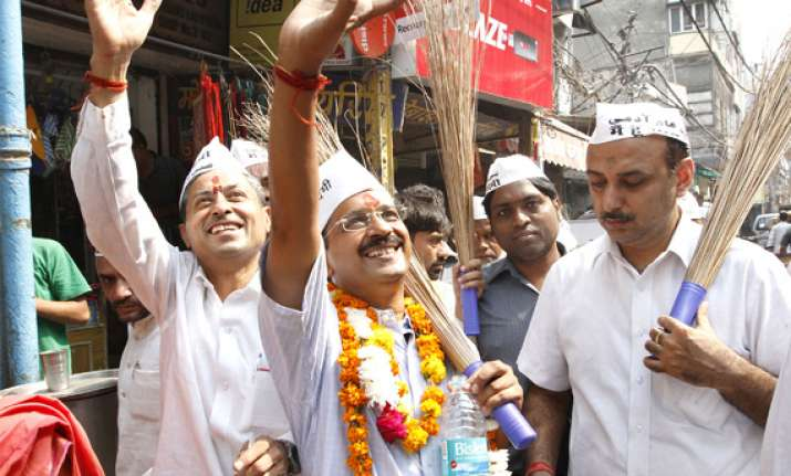 aap to release manifesto for lok sabha polls