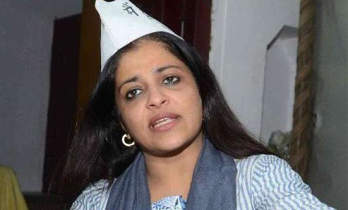 aap will work to develop ghaziabad says shazia