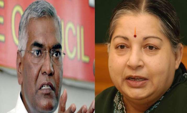 aiadmk cpi announce alliance for ls polls