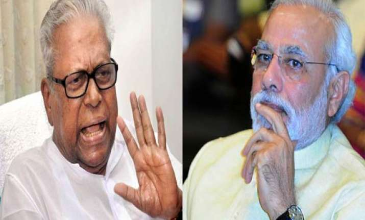 achuthanandan writes to narendra modi seeks probe against