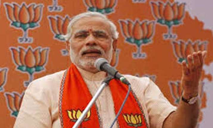 controversy over modi s varanasi rally bjp complains to ec