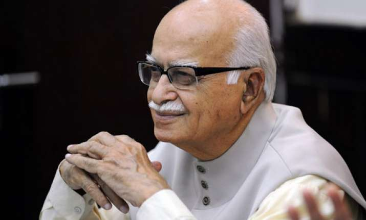 advani wants voters who played truant debarred writes to ec